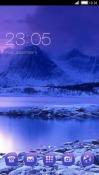 Cold Lake CLauncher Samsung Galaxy Rush M830 Theme