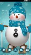 Snowman CLauncher Samsung Galaxy Rush M830 Theme