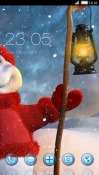 Welcome Winter CLauncher Android Mobile Phone Theme