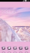Winter Rose CLauncher Android Mobile Phone Theme