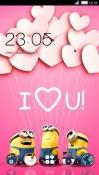 I Love You CLauncher Samsung Galaxy Rush M830 Theme