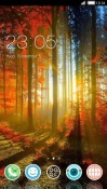 Fall CLauncher Android Mobile Phone Theme