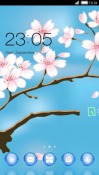 Tree Flower CLauncher Android Mobile Phone Theme