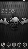 Winged Skull CLauncher LG Optimus G Pro Theme