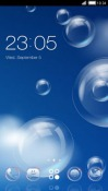 Blue Sky CLauncher LG Optimus G Pro Theme