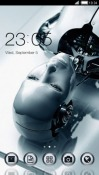 Robot Imsagi CLauncher LG Optimus G Pro Theme