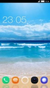 Simple Beach CLauncher LG Optimus G Pro Theme