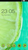 Green Lemon CLauncher Android Mobile Phone Theme