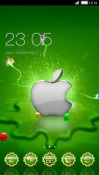 Green Apple CLauncher LG Optimus G Pro Theme