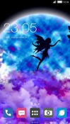 Moon Fairy CLauncher LG Optimus G Pro Theme