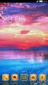 Sunset CLauncher Samsung Galaxy Rush M830 Theme