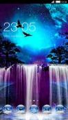 Waterfall CLauncher Samsung Galaxy Rush M830 Theme