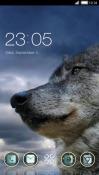 Wolf CLauncher Samsung Galaxy Rush M830 Theme
