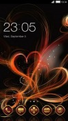Abstract Hearts CLauncher Android Mobile Phone Theme