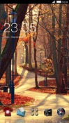 Forest CLauncher Samsung Galaxy Rush M830 Theme