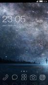 Night Walk CLauncher Samsung Galaxy Rush M830 Theme