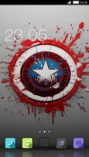 Captain America CLauncher HTC Desire 300 Theme