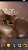 Cute Cat CLauncher HTC Desire 300 Theme