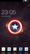 Captain America CLauncher Android Mobile Phone Theme