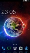 Earth CLauncher Android Mobile Phone Theme