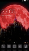 Castlevania Red Moon CLauncher Android Mobile Phone Theme