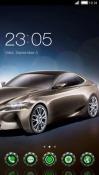 Futuristic Car CLauncher Android Mobile Phone Theme