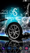 Splash Car CLauncher Android Mobile Phone Theme