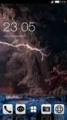 Thunderstorm CLauncher Android Mobile Phone Theme