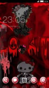 Red CLauncher Android Mobile Phone Theme