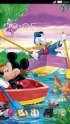 Mickey & Donald CLauncher Android Mobile Phone Theme