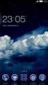 Clouds CLauncher Android Mobile Phone Theme