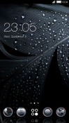 Dark Feather CLauncher Android Mobile Phone Theme