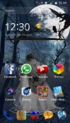 Broken CLauncher Android Mobile Phone Theme