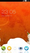 Snowman CLauncher Android Mobile Phone Theme