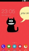 Cat CLauncher Android Mobile Phone Theme