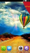 Air Balloon CLauncher Android Mobile Phone Theme
