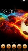 Fire Ball CLauncher Android Mobile Phone Theme