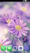 Purple Flower CLauncher LG Optimus G Pro Theme