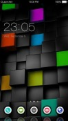 Blocks CLauncher Android Mobile Phone Theme
