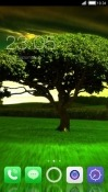 Green Tree CLauncher LG Optimus G Pro Theme