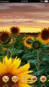Sun Flowers CLauncher LG Optimus G Pro Theme