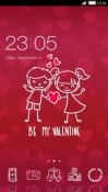Be My Valentine CLauncher Android Mobile Phone Theme