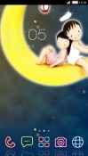 Love Story CLauncher Android Mobile Phone Theme