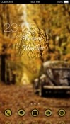 Autumn Leaves CLauncher Android Mobile Phone Theme