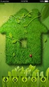 Green Home CLauncher Android Mobile Phone Theme