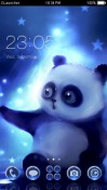 Panda CLauncher Samsung Galaxy Rush M830 Theme