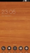 Wooden CLauncher Samsung Galaxy Rush M830 Theme