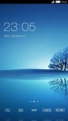Calm CLauncher QMobile Noir A6 Theme