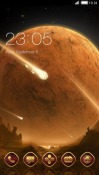 Meteor CLauncher Android Mobile Phone Theme