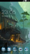 Haunted House CLauncher Samsung Galaxy Rush M830 Theme